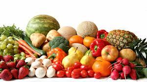 Aardappels, groenten en fruit